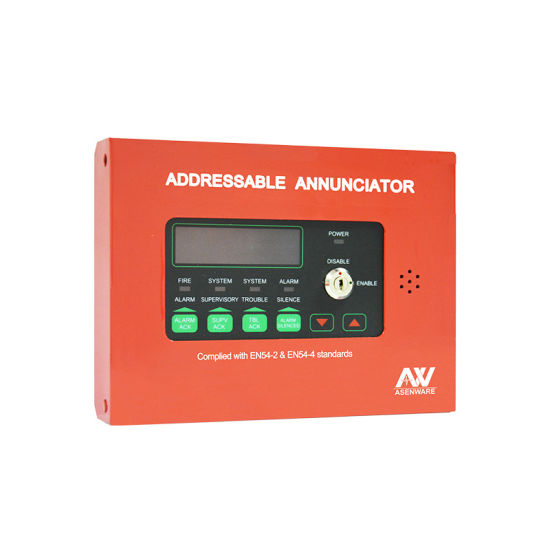 Asenware Aw-D116 GSM Alarm System Addressable Control Panel