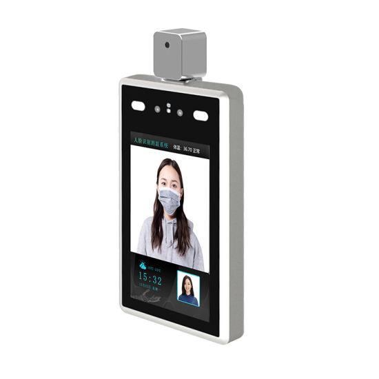 Temperature Measurement Face Recognize Access Control RFID Panel Alarm System