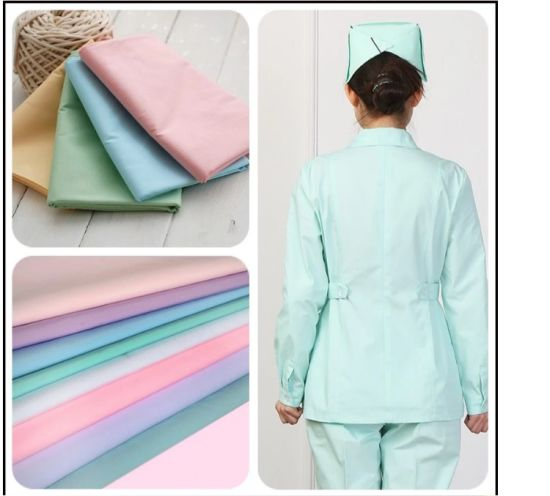 Classic Plain Dyeing Modal Cotton Shirting Fabric with Rich Color