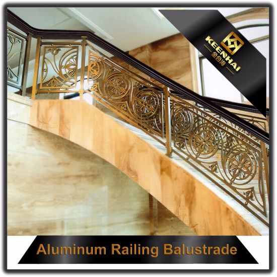 Villa Decorative Luxury Interior Stair Aluminum Baluster pictures & photos