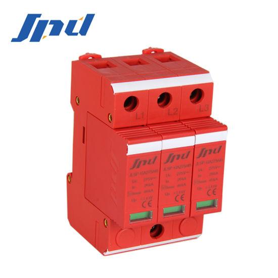Jinli AC SPD 275V 40ka 3 Poles Pwer Surge Protection Device Jlsp-Ga275/40/3p