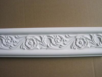 PU Carved Ceiling Polyurethane Cornice for Interior and Exterior Decoration