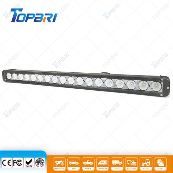 Super Slim 180W LED Light Bar with Bottom Bracket