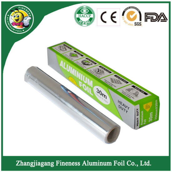 2018 High Quality Food Package Aluminum Foil Roll for Kitchen Use pictures & photos
