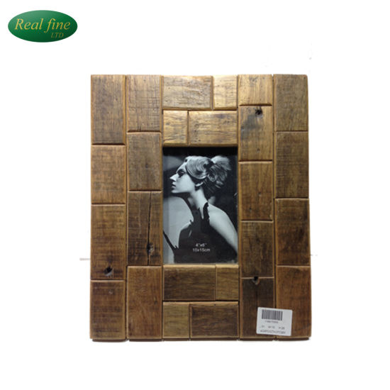 China 6 Wooden Craft Photo Frame For Wedding Gift Or Home Decor