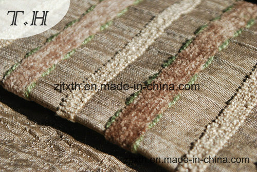 Strip Woven Sofa Fabric (FTH31156) pictures & photos