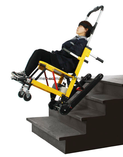 Automatic Emergency Folding Electric Stair Chair Stretcher