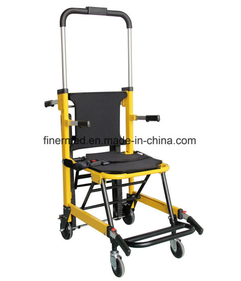 emergency stair chair. Automatic Emergency Folding Electric Stair Chair Stretcher