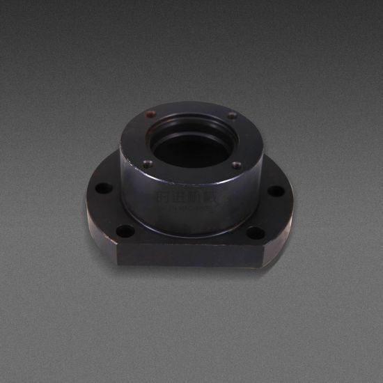 CNC Machining Carbon Steel Products---Bearing Cover Plate pictures & photos