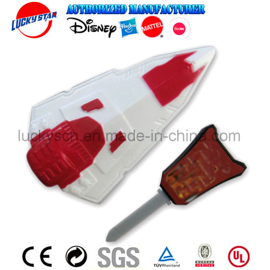 New Design Sapce Ship Launcher Toy for magazine Promotion