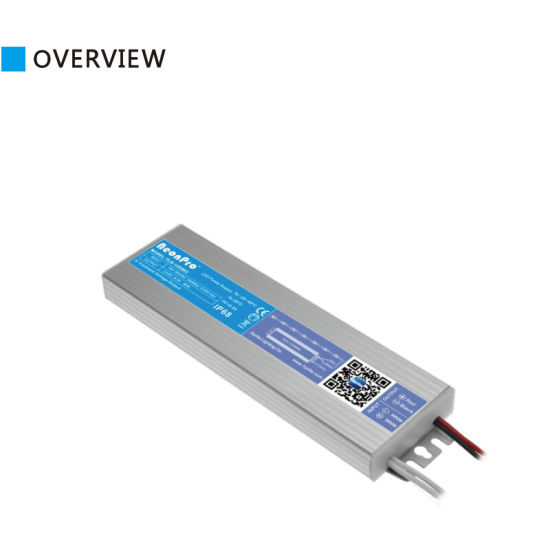 IP68 Thickness Only 18mm 12V 150W LED Driver for Light Box
