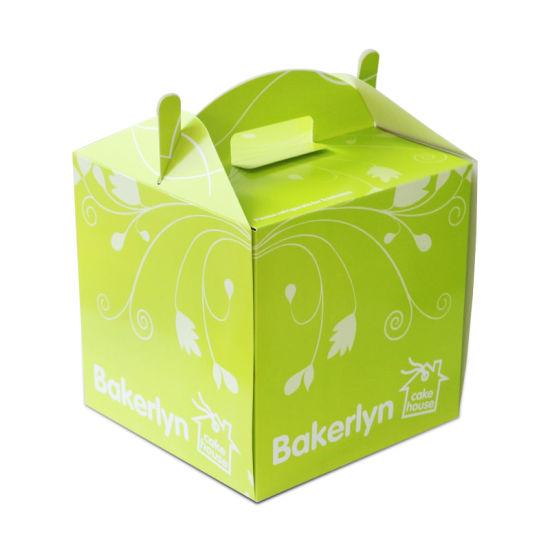 2021 Wholesale Translucent Cake Boxes Bulk Packaging Birthday Cake Boxes