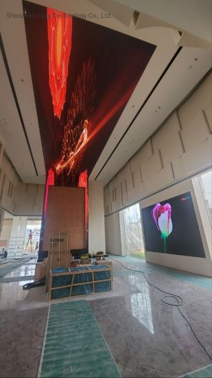 High Definition Full Color Ceiling Display Multi-Media Advertising LED Screen