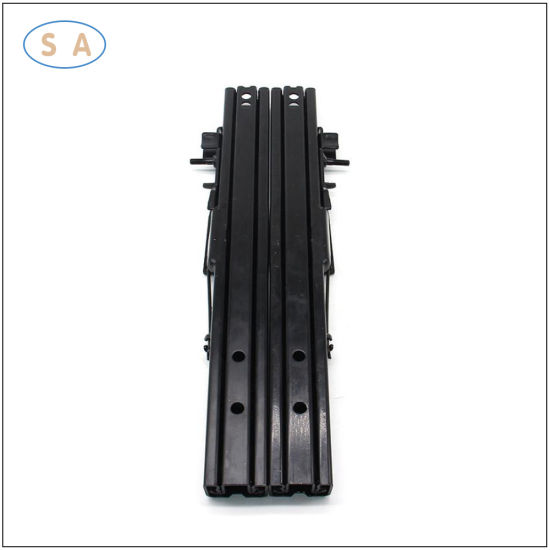 High Strength Auto Parts Adjustable Double Lock Seat Front Back Slide Rail