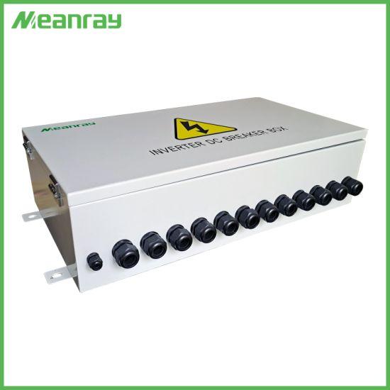 Inverter DC Breaker Box IP 65 Waterproof Breaker Box DC MCCB Box