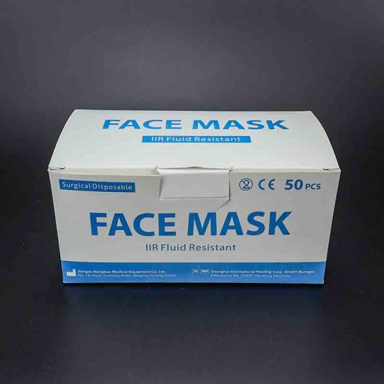 Disposable Pollution Dust Proof Sterile Safety Anti Pm2.5 3ply Face Mask Supplier