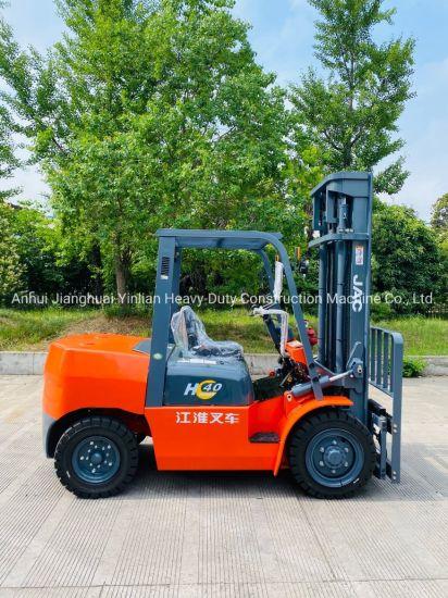 JAC 4 Ton Diesel Forklift/Cpcd40h/Internal Combustion Forklift/Forklift Truck
