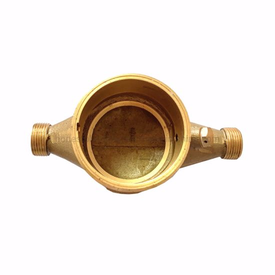 Casting Brass Multi-Jet Water Meter Parts of 15-50mm