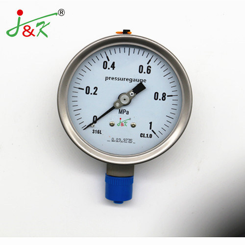 2020 60mm ISO Certification Pressure Gauge Manometer for Exporting with Accuracy 1.5%