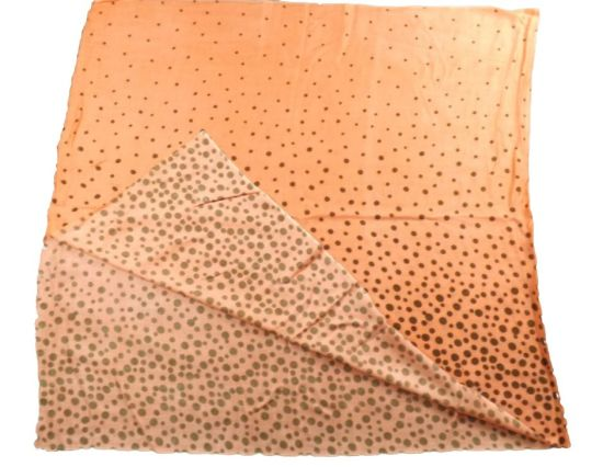 Acrylic DOT Dyed Scarf Printed Shawl for Ladies (ABF22004022) pictures & photos