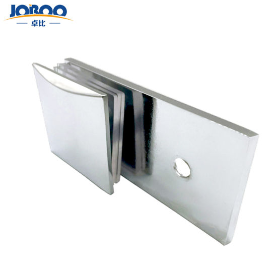 Best Price High Quality Arc Brass Wall Mount Shower Glass Door Hardware Clamp for Glass Door