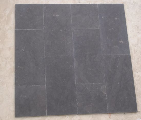 China Flamed and Tumbling Bluestone Limestone for Floor