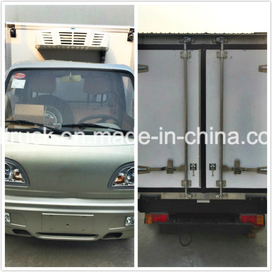 Refrigerated Frozen Food Truck, Cooling Room Freezer Truck pictures & photos