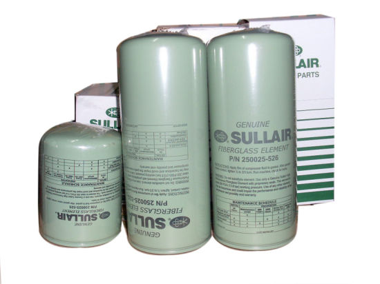 Sullair 250025-525 Oil Filter Stainless Steel Air Compressor Parts pictures & photos
