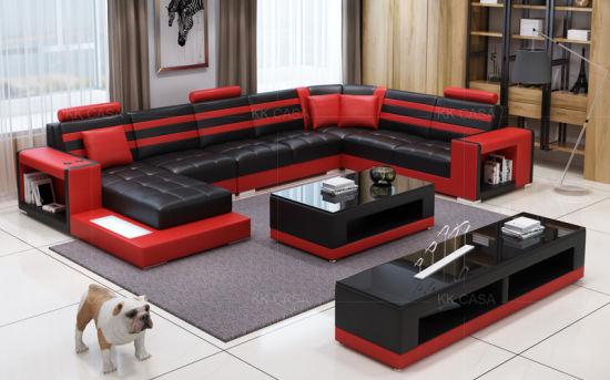 U Shaped Sectional Sofa Modern