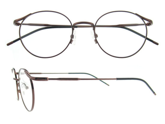 fd3715af965c China Designer Round Titanium Glasses Frame for Girls - China ...