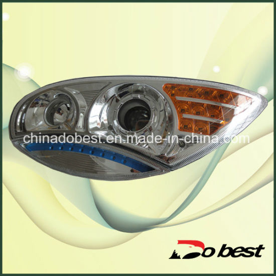 Golden Dragon Bus Spare Parts Headlight pictures & photos