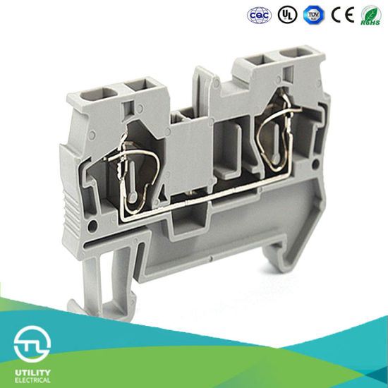 Two Lead Through Wiring Spring Type Terminal Connector Through Wiring on power cable, three-phase electric power, power cord, circuit breaker, electric power distribution, extension cord, alternating current, distribution board, electrical engineering, electric motor, junction box, electrical conduit, earthing system, knob-and-tube wiring, wiring diagram, ground and neutral, national electrical code,