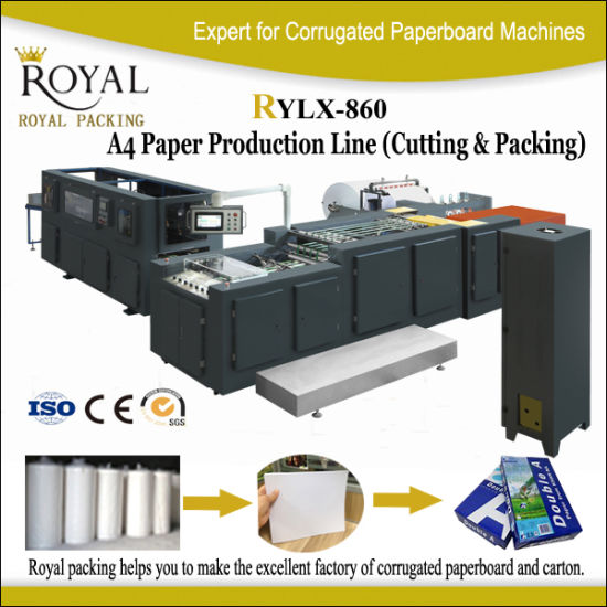 Fully Automatic A4 Paper Cutting and Packing Machine pictures & photos