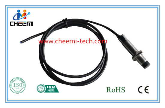 Inductive Sensor Non-Flush Type M12 PNP No High Precision Proximity Switch pictures & photos