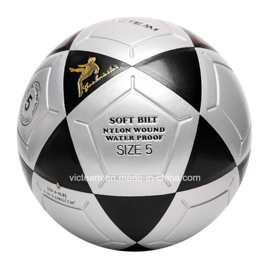 Robust PU Material Club Training Soccer Ball Size 5 pictures & photos