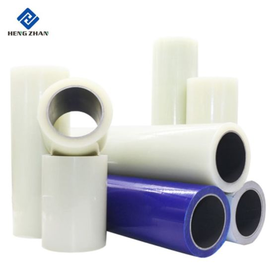 Clear Transparent/Blue/Black-White Color Self Adhesive Polyethylene Protective Film