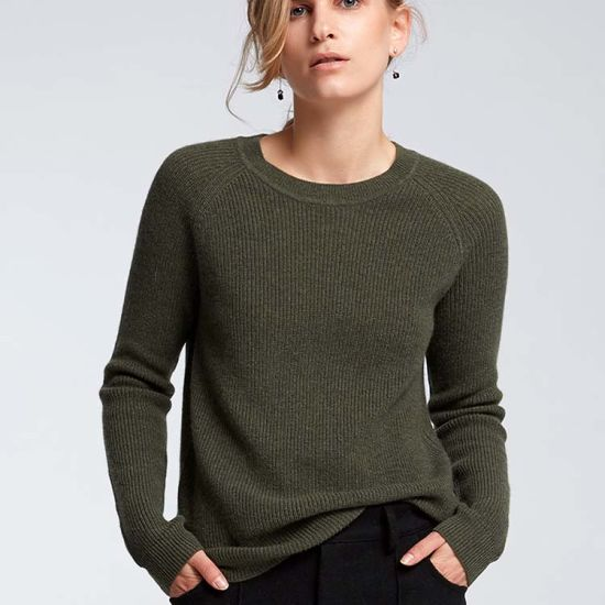 0164561394f2 2019 New Autumn Winter Pullover Women O-Neck Knitted Sweater Warm Long  Sleeve 100% Cashmere Woman Sweater