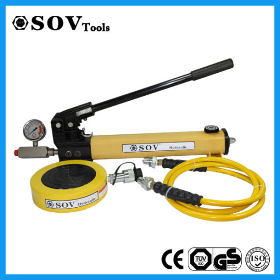 Lifting Jack China Supplier Low Profile Single Acting Pancake Hydraulic Jack pictures & photos