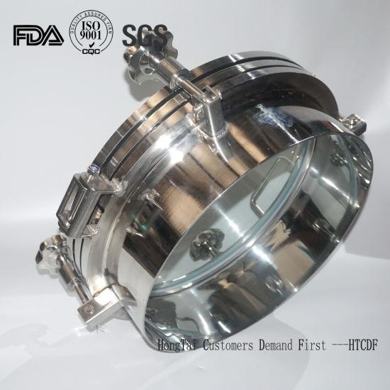 Food Grade Stainless Steel Tank Vessel Pressure Manway Manhole Cover