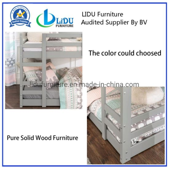 Bed Bunk For Child Solid Pine