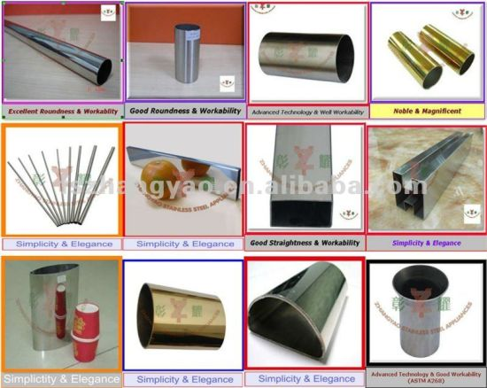 304, 316 Stainless Steel Half Round Tube for Railing pictures & photos