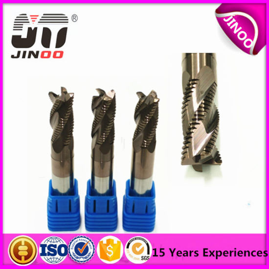 Solid Carbide 6 Flutes End Mill for Finishing Cutting pictures & photos