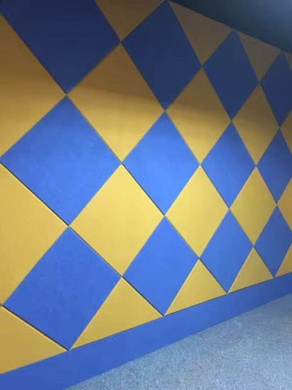 China Top Grade Best Price Polyester Fiber Acoustic Panel Wall Panel ...