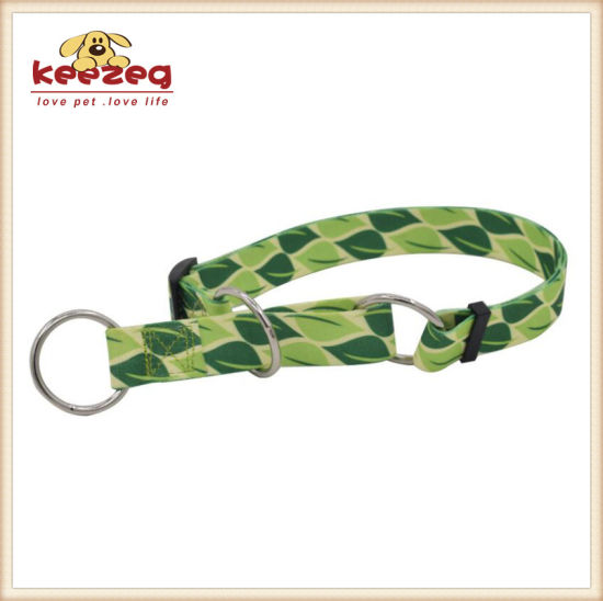 New Style O Ring Nylon Dog Cat Collars/Transfer Printing (KC0099) pictures & photos