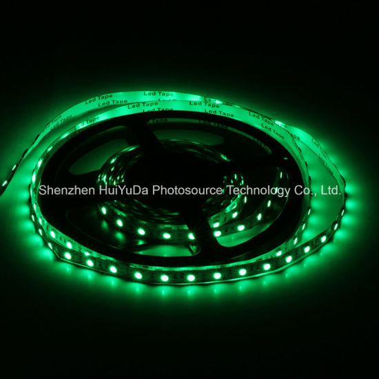 Good Quality Green Color IP65 SMD5050 Chip 60LEDs 14.4W DC12V LED Strip pictures & photos