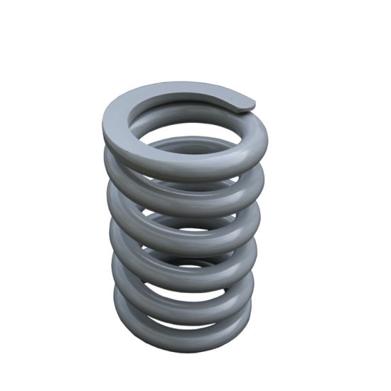 OEM Iris Certified Coil Springs for Excavator Railway Automobile Fields