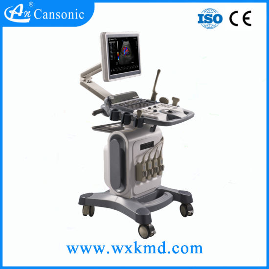 New Trolley Color Doppler Ultrasound Scanner pictures & photos