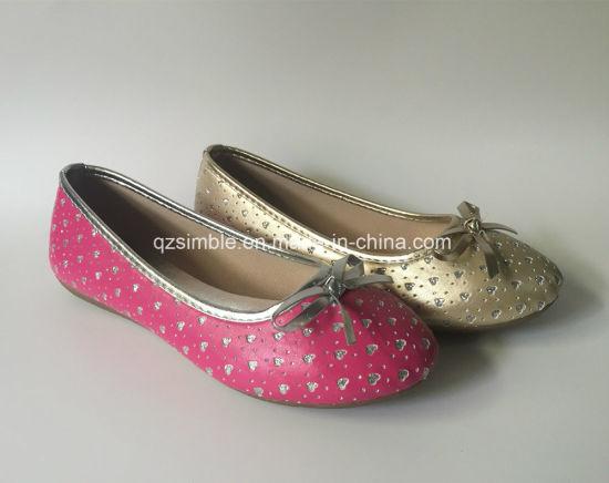 Lovely Bling Bling Upper of Girls Dress Dance Ballet Shoes