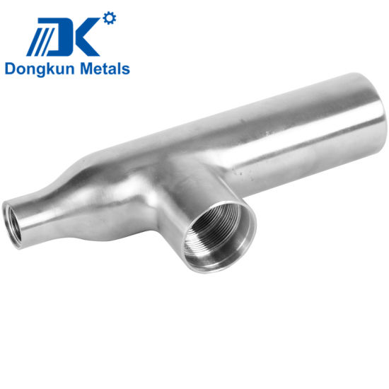 Customized Aluminum Stainless Steel Precision Investment Casting Clean Pipe