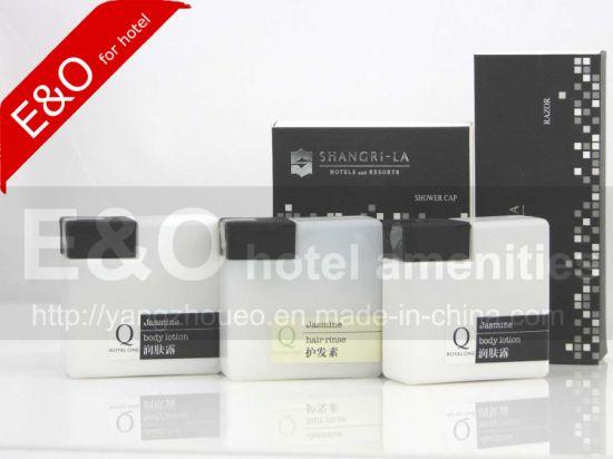 5 Star Disposable Hotel Shampoo/Bath Foam/Conditioner/Body Lotion Bottle